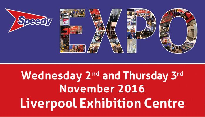 Come and see us at this year's Speedy Expo