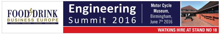 Food and Drink Business Europe Engineering Summit
