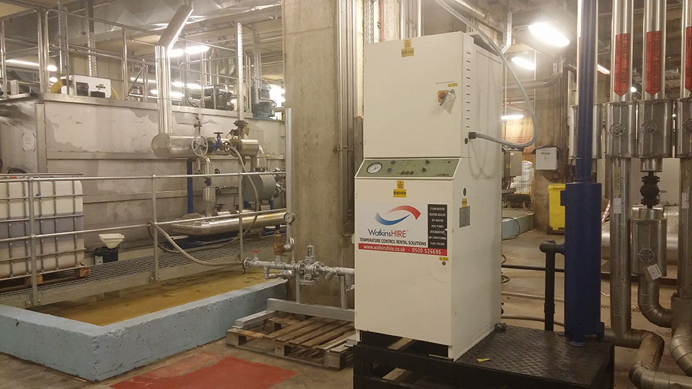Manufacturers are dependent on boilers creating steam for their production to continue with ease