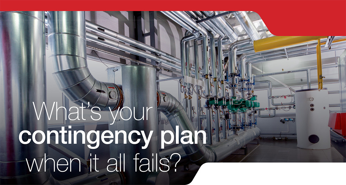 What's your contingency plan when it all fails?