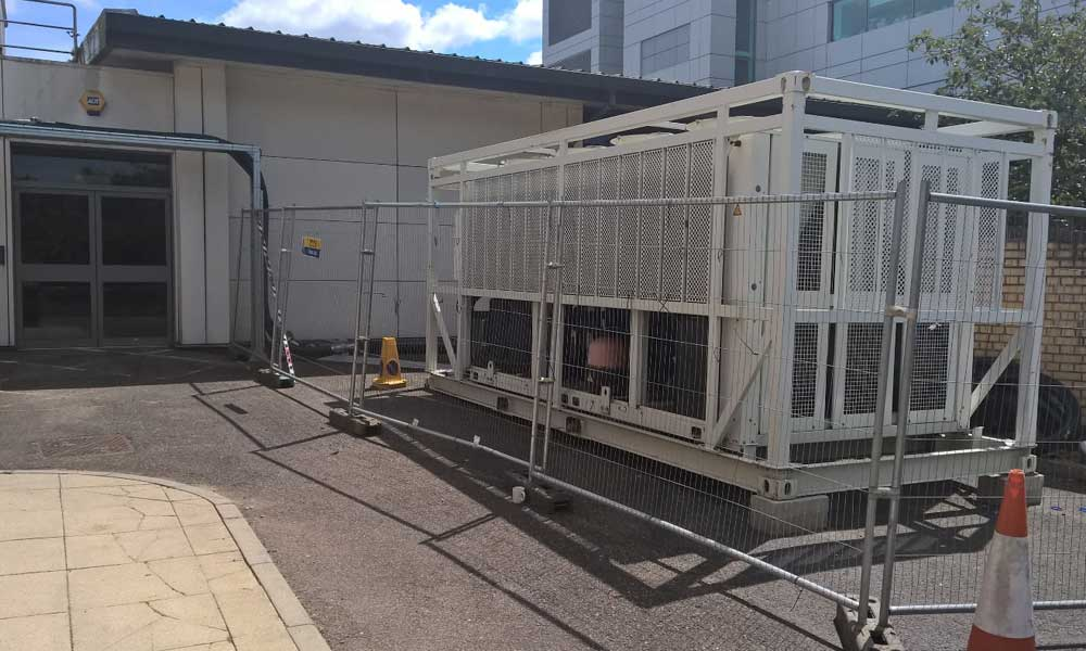 Watkins Chiller Hire ensures server room does not over heat